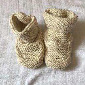 Baby Gap knit booties